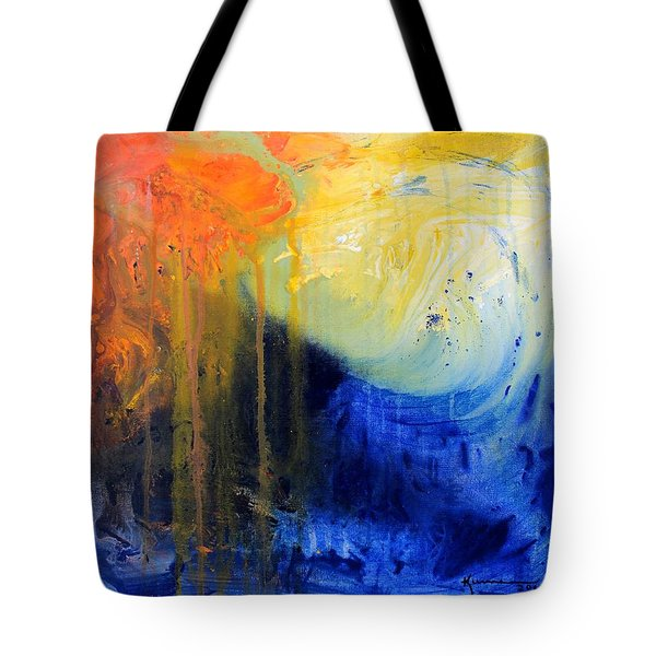 Spirit Of Life - Abstract 7 Tote Bag