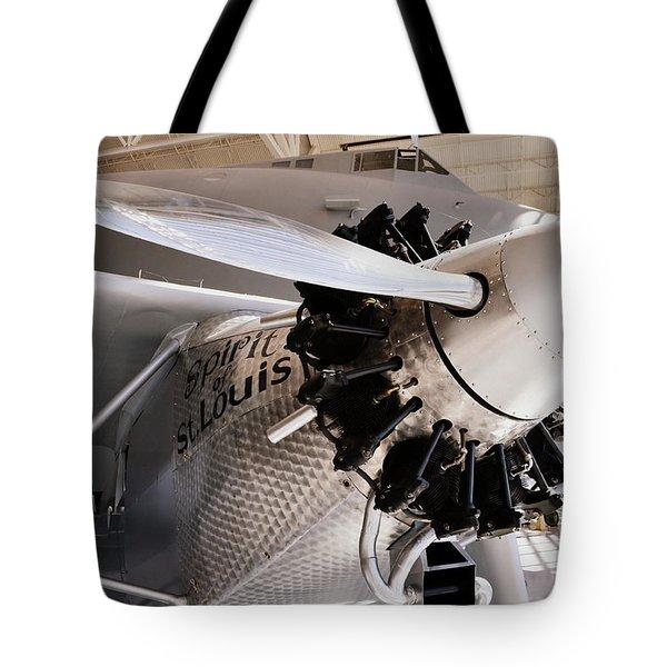 Spirit Of St. Louis Tote Bag by Michelle Calkins