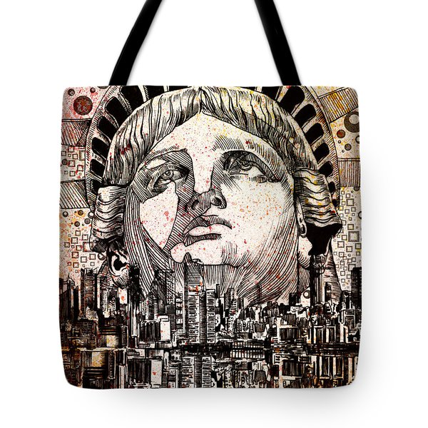 Spirit Of The City 3 Tote Bag