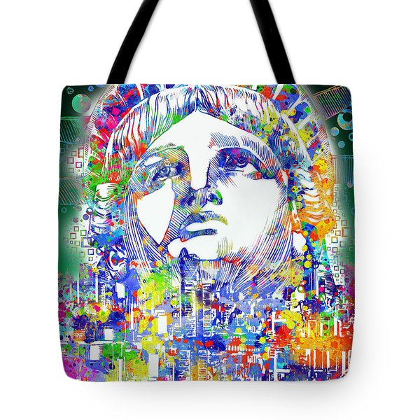 Spirit Of The City 4 Tote Bag