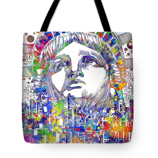 Spirit Of The City Tote Bag