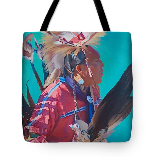 Spirit Of The Dance Tote Bag