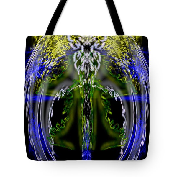 Spirit Of The Dragon Tote Bag by Christopher Gaston