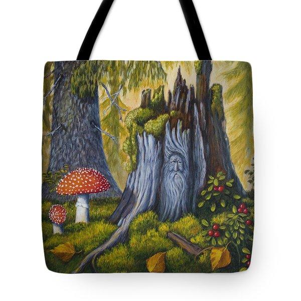 Spirit Of The Forest Tote Bag by Veikko Suikkanen