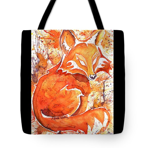 Spirit Of The Fox Tote Bag