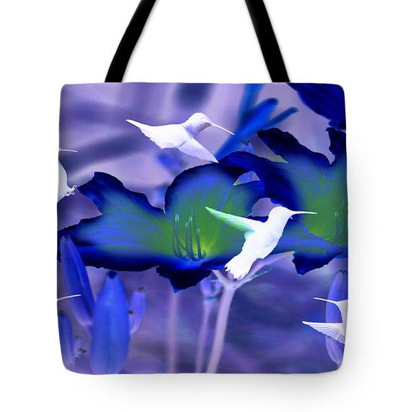 Spirit Of The Humming Bird Tote Bag