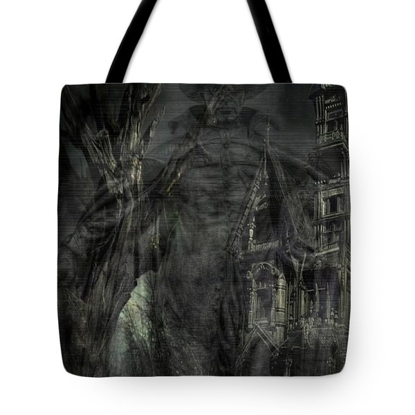 Spirit Of The Inquisitor Tote Bag by Dan Stone