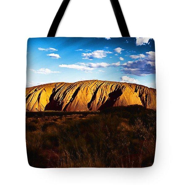 Spirit Of The Rock Tote Bag by Douglas Barnard