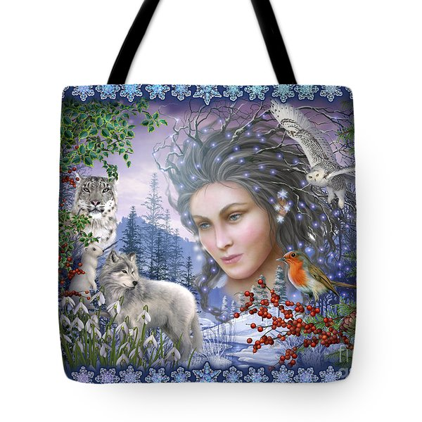Spirit Of Winter Variant I Tote Bag