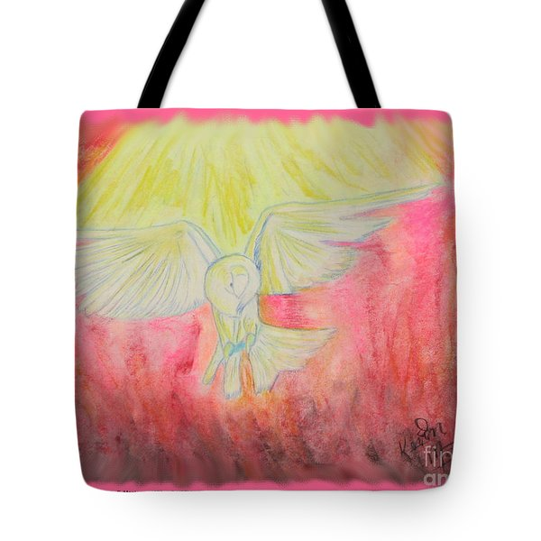 Spirit Touched Heart Of Man Tote Bag