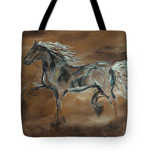Spirited Tote Bag by Leslie Allen