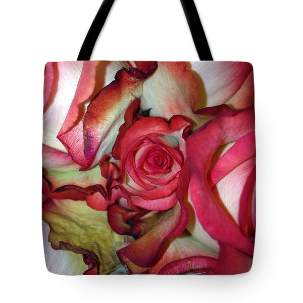 Spirited Rose  Tote Bag