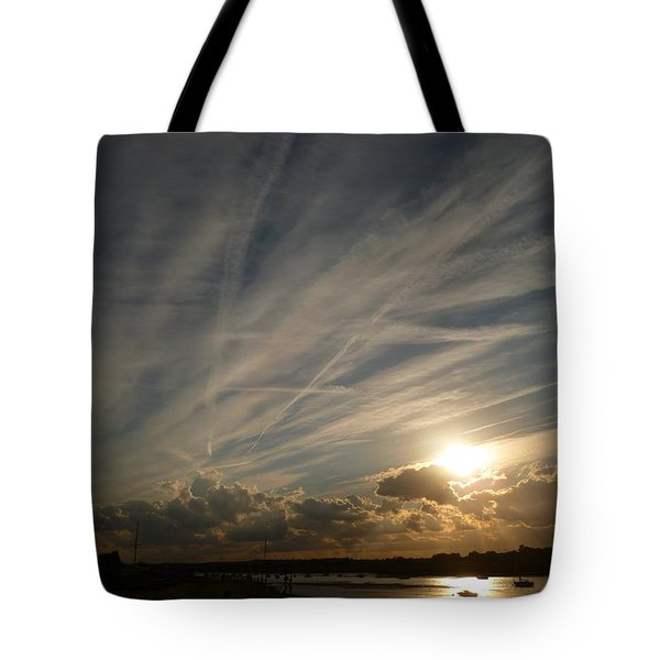 Spirits Flying In The Sky Tote Bag
