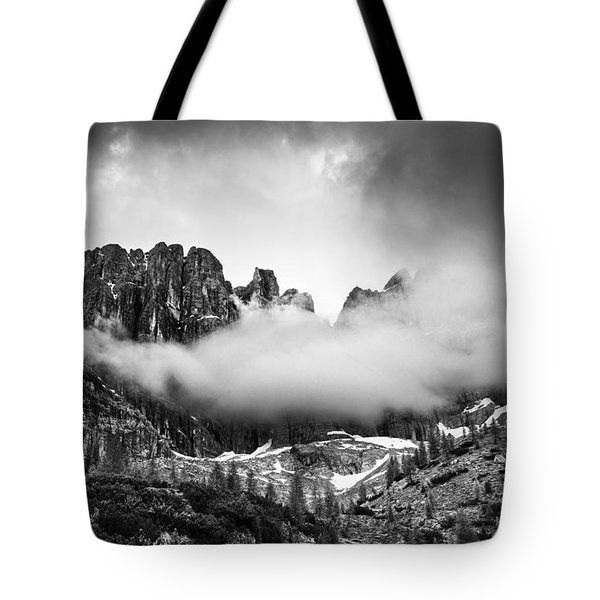 Spirits Of The Mountains Tote Bag