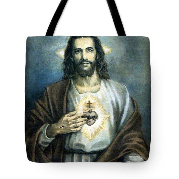 Spiritual Beauty Tote Bag by Munir Alawi