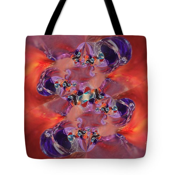 Tote Bag featuring the digital art Spiritual Dna by Margie Chapman