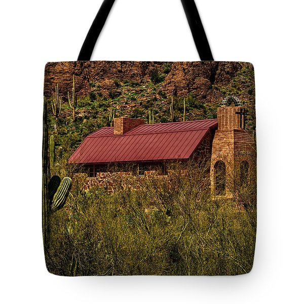 Tote Bag featuring the photograph Spiritual Oasis by Mark Myhaver