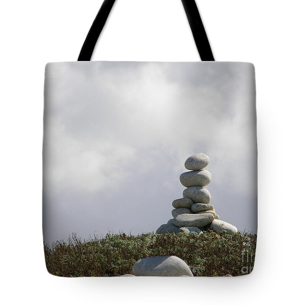 Spiritual Rock Sculpture Tote Bag by Bev Conover