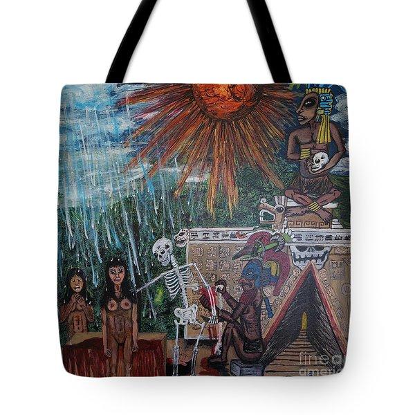 Spiritual Sacrifice Tote Bag