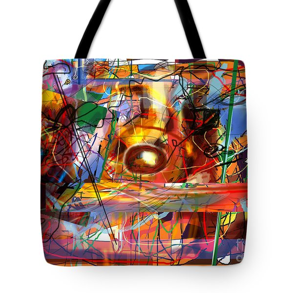 Spiritual Understanding 3 Tote Bag by David Baruch Wolk
