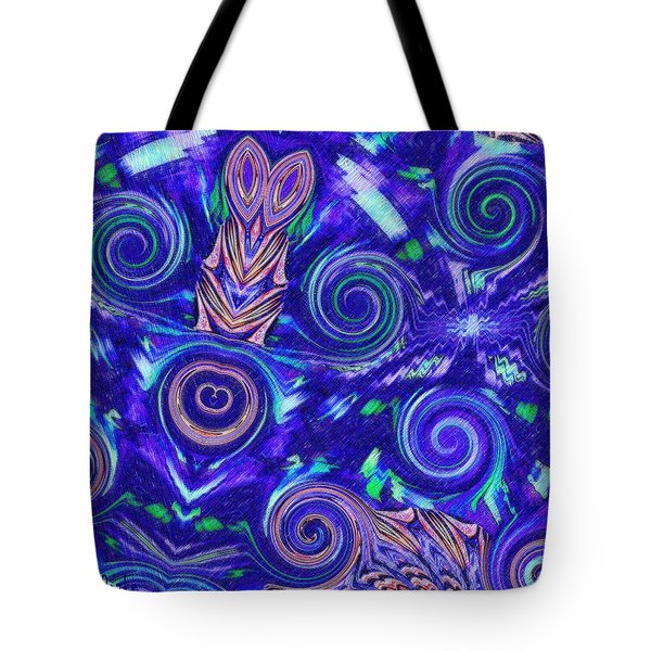 Spiritual Waters Tote Bag by Alec Drake