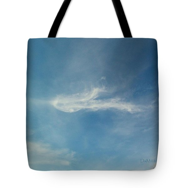 Tote Bag featuring the photograph Sylph Elemental by Deborah Moen