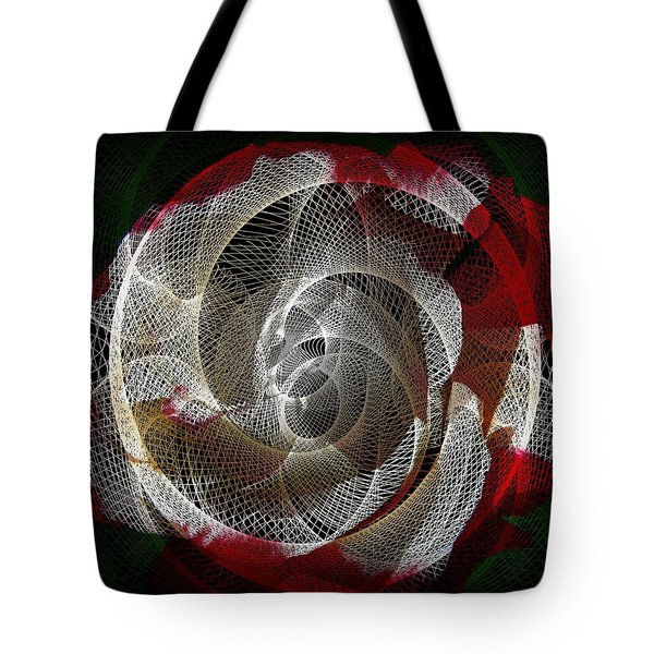 Tote Bag featuring the photograph Spiro by Athala Carole Bruckner