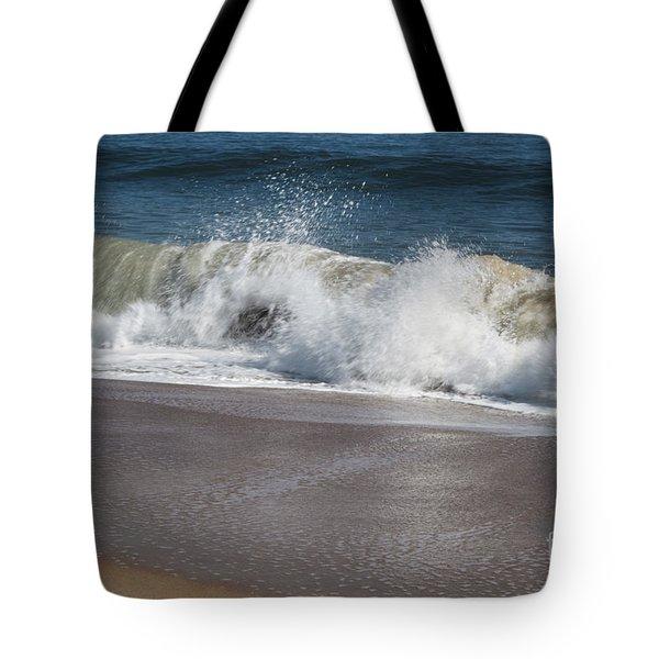 Tote Bag featuring the photograph Splash by Arlene Carmel