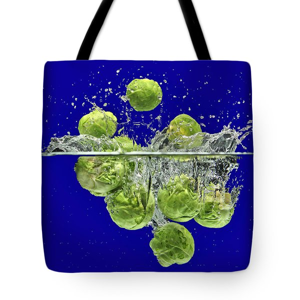 Splash-brussels Sprouts Tote Bag