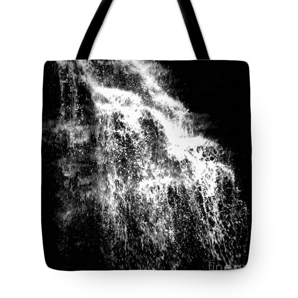 Splash Bushkill Falls Tote Bag by Janine Riley