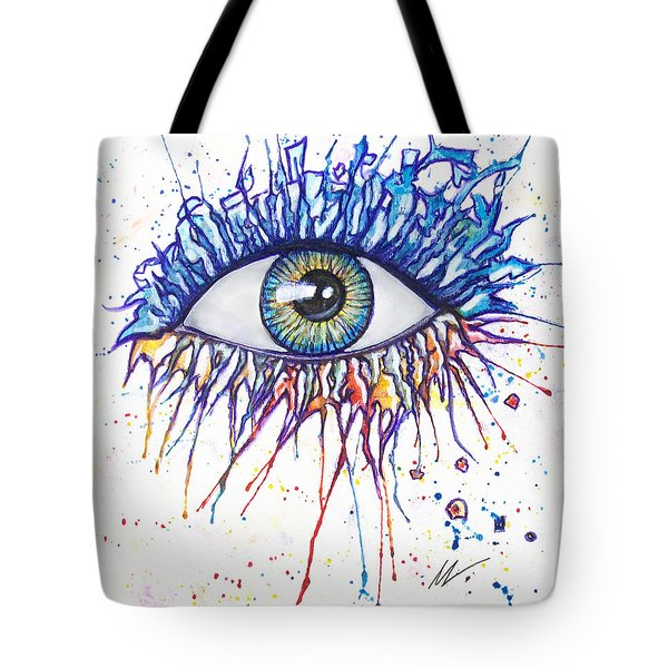 Splash Eye 1 Tote Bag