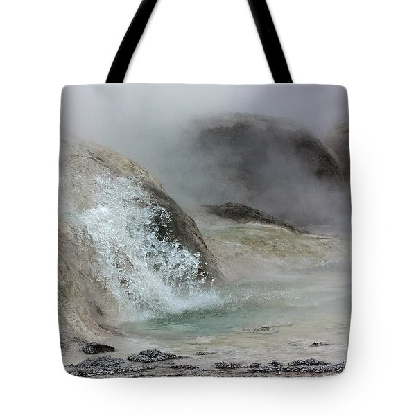 Splash From Grotto Geyser Tote Bag