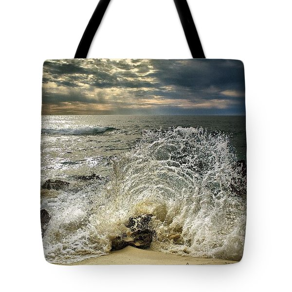 Splash N Sunrays Tote Bag