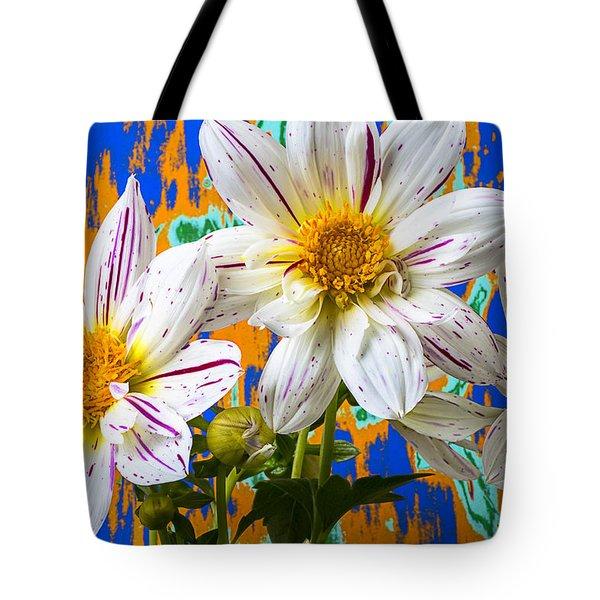 Splash Of Color Tote Bag by Garry Gay