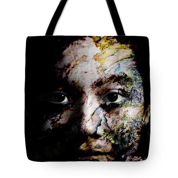 Splash Of Humanity Tote Bag by Christopher Gaston