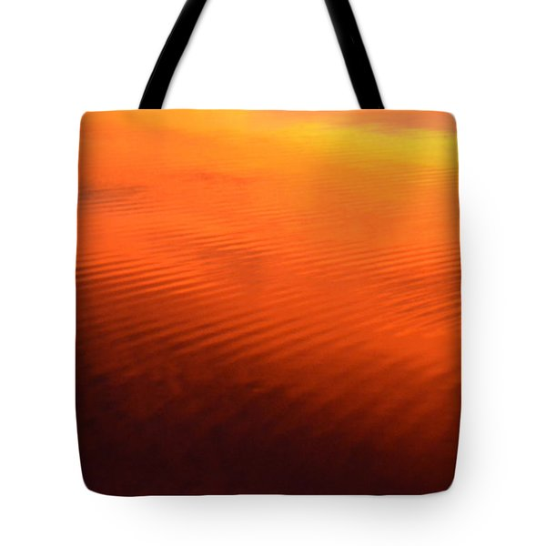 Splash Of Sunset  Tote Bag