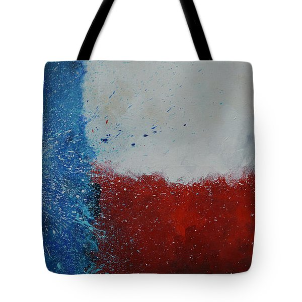 Splash Of Texas Tote Bag