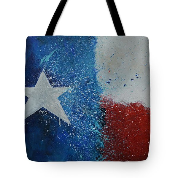 Splash Of Texas Tote Bag