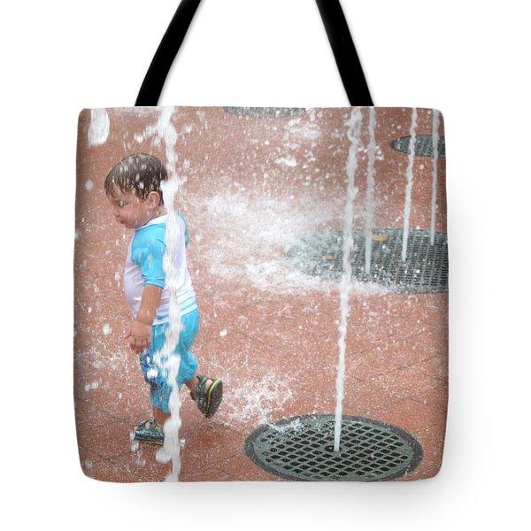 Splash Pad Tote Bag