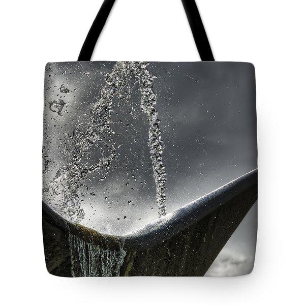 Splash Tote Bag by Wayne Sherriff