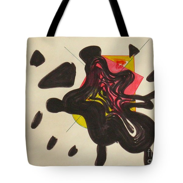 Splash Went The City Tote Bag