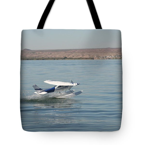 Splashdown Tote Bag by David S Reynolds