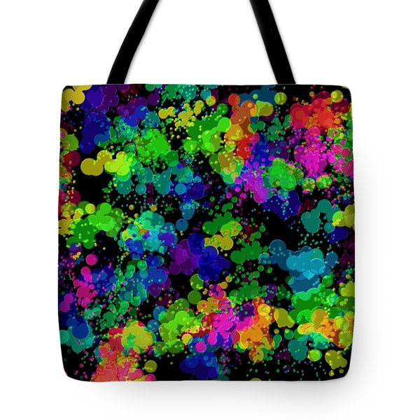 Tote Bag featuring the photograph Splatter by Mark Blauhoefer