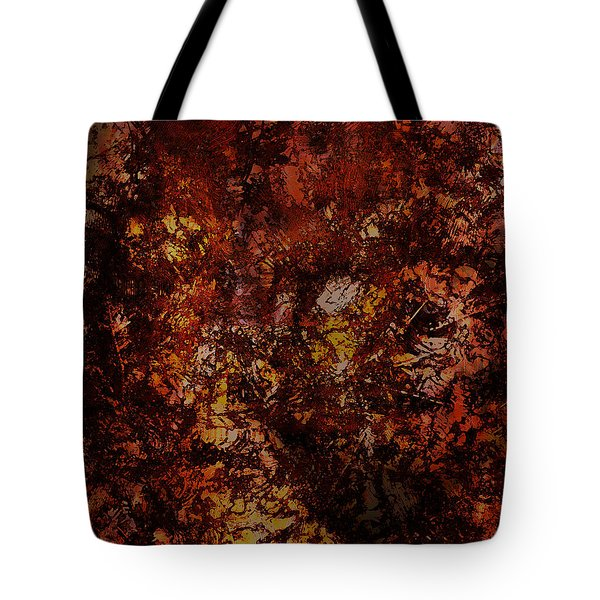Splattered  Tote Bag