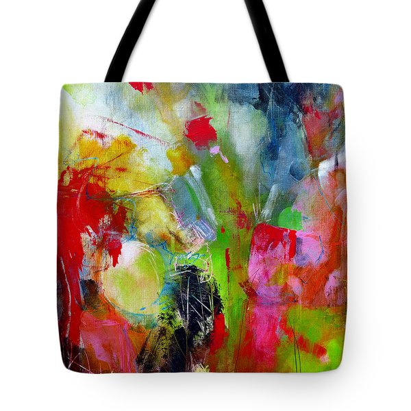 Tote Bag featuring the painting Splinter by Katie Black