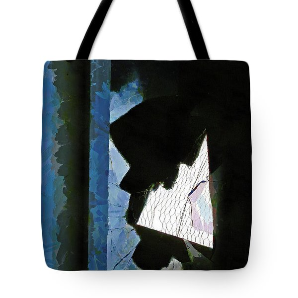 Splintered  Tote Bag by Steve Taylor