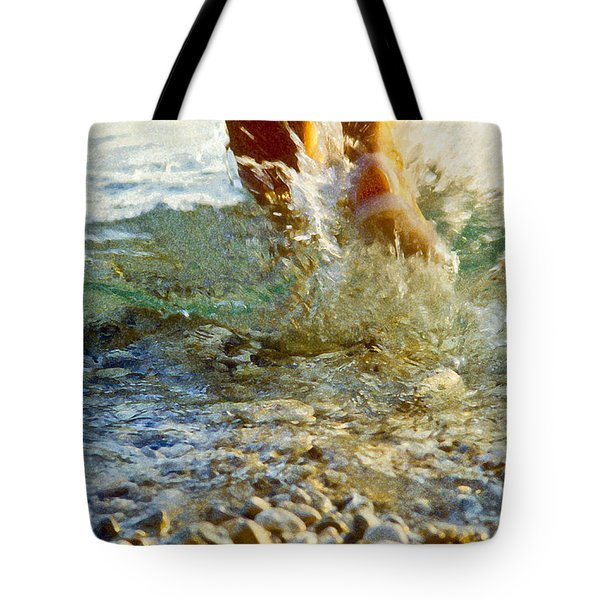 Splish Splash Tote Bag by Heiko Koehrer-Wagner