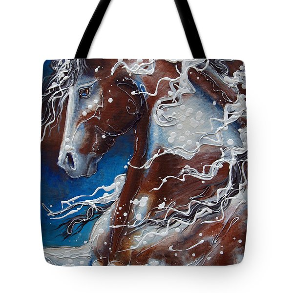 Splish Splashed My Paint Tote Bag