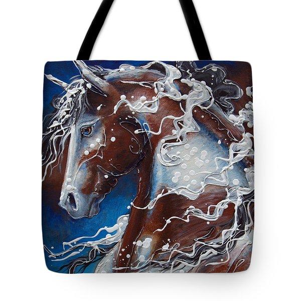 Splish Splashed My Paint Tote Bag