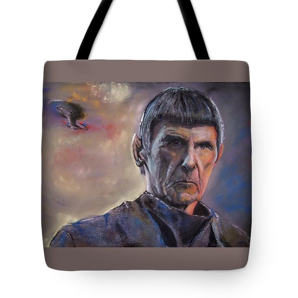 Spock Tote Bag by Peter Suhocke